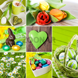 Ostern - Collage