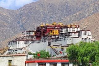 Potala Palast Lhasa  Tibet