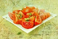 Italien Tomatoes Vintage Style