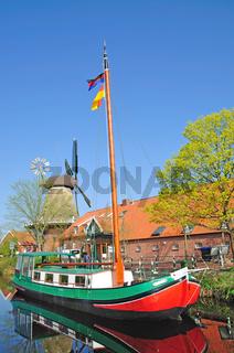 Fehnkanal in Ostfriesland