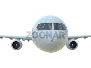 CommercialPassenger Plane in Airon White Aviation Cargo Service