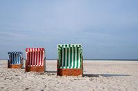 Beach of Amrum, North Frisia, Germany