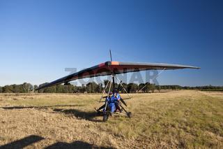 Rundflug mit Motordrachen, Suedafrika
