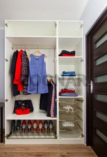 wardrobe with closing