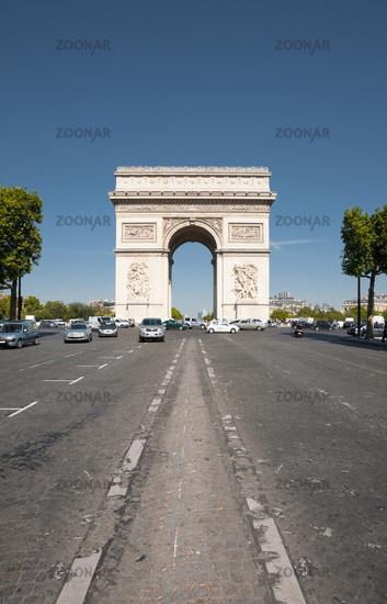 Arc De Triomphe Front Center V