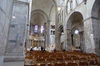 Gottesdienst in Gross St. Martin, romanische Basilika in der Kölner Altstadt