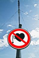 Warnung für Menschen mit Herzschrittmacher