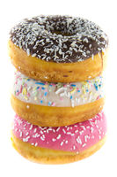 Stacked donuts