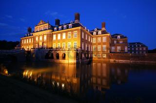 Nachtaufnahme vom Schloss Nordkirchen