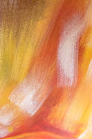 Abstract oil paint texture on canvas