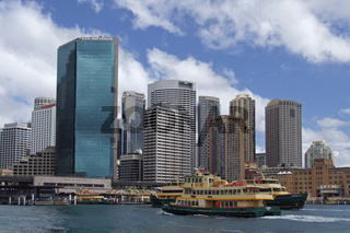 Hochhäuser beim Circular Quay in Sydney