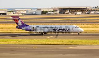 Hawaiian Airline Boeing 717