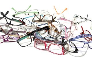 A lot of glasses
