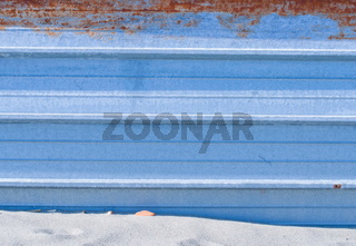 metallwand am strand