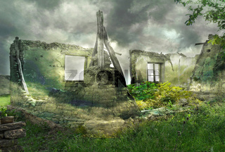 Fantastic ruins