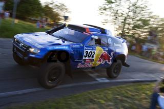 Dieter Depping bei der AvD Sachsen Rallye 2012