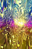 Artistic illustration of an abstract psychedelic background