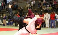 Judo Wettkampftag mit Überwurf