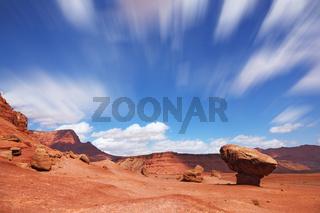 The grand panorama - a stone desert