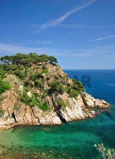 malerische Bucht bei Tossa de Mar