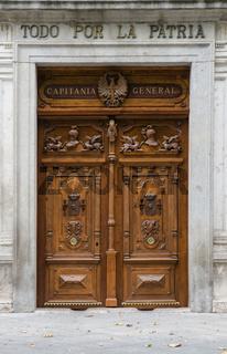 Cavalry Academy door