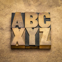 abc and xyz - first and last letters of alphabet