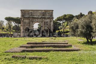 Konstantinbogen Rom, Italien | Arch of Constantine Rome, Italy
