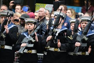 Baroness Thatcher's funeral