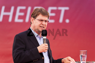 Ralf Stegner, during an Election Campaign Event