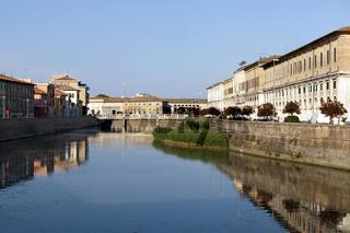 misa river in senigallia