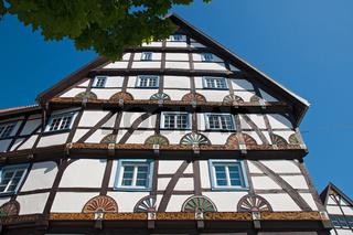 Historische Fachwerkhäuser in Soest, NRW, Deutschland