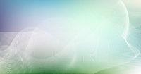 abstrakt linien punkte wellen weiß bewegung banner