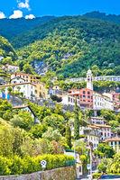 Moltrasio village on Lake Como architecture view