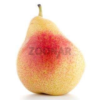 Single ripe pear
