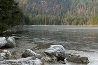 Eiszeit am großen Arbersee