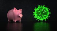 Piggy Bank Corona Virus
