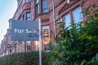 Glasgow Tenement Flat For Sale