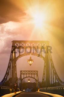 Die Kaiser-Wilhelm-Brücke in Wilhelmshaven
