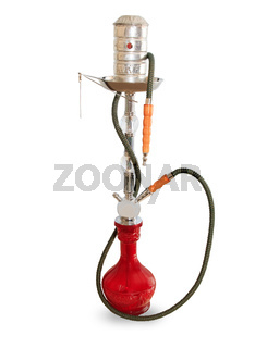 Hookah isolated on a white background