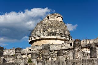 Ruin of Mayan Observatory Landscape