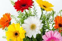 Flowers bouquet background
