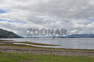 Schottland, Glencoe, Duror, Loch Linnhe