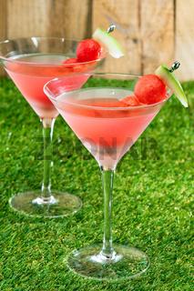 Wassermelonen Martini