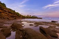 Beach near Tanah Lot Temple - Bali Indonesia