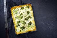 tart crust pie phyllo filo yufka pastry dough layered with zucchini