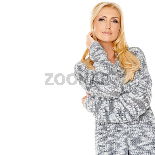 Portrait of a sensual blond