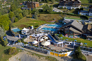 Thermalbad im Ferien- und Kurort Ovronnaz