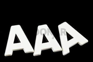 Das Tripple A einer Rating Agentur. AAA