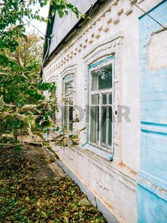House in the Ukrainian village