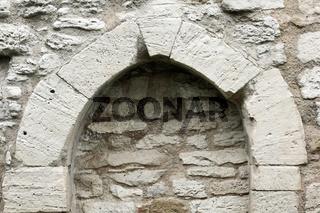 Fensterbogen am Palas der Eckartsburg